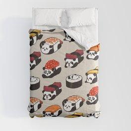 Sushi Panda Comforters
