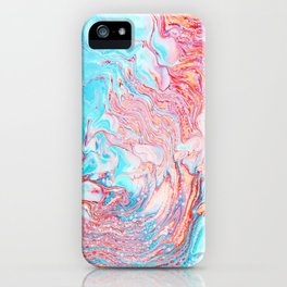Abberation #abstract #digitalart iPhone Case