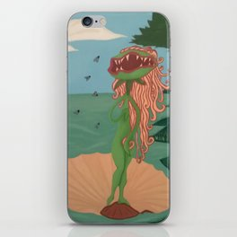 The Birth of Venus Fly Trap iPhone Skin