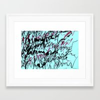 champagne Framed Art Prints featuring champagne by austeja saffron