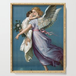 Guardian Angel Serving Tray
