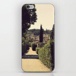 Boboli Gardens iPhone Skin