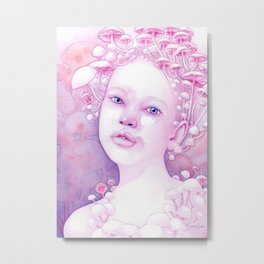 Infectious Innocence Metal Print