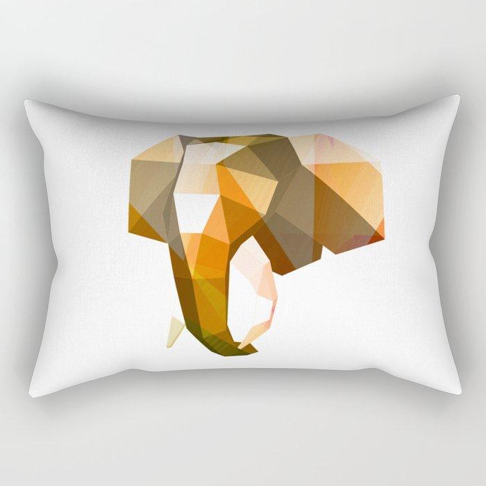 Elephant. Rectangular Pillow