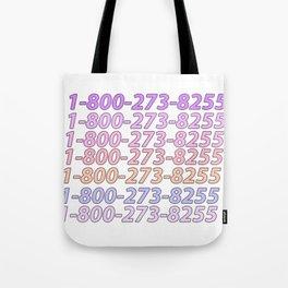 Logic Suicide Hotline Tote Bag