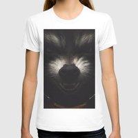 rocket raccoon T-shirts featuring ROCKET RACCOON by yurishwedoff