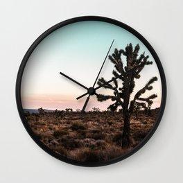 Red Horizon Chill Wall Clock