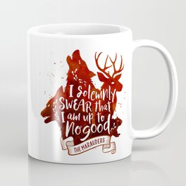 I solemnly swear - white Coffee Mug
