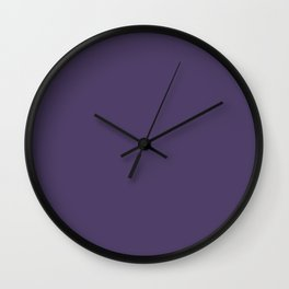 Violet Indigo Wall Clock