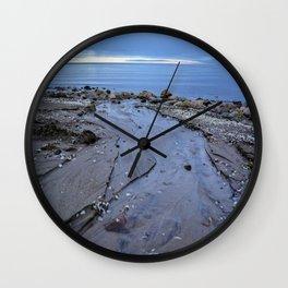 Sea Blue  Wall Clock