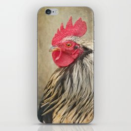 The Rooster in the Woods iPhone Skin