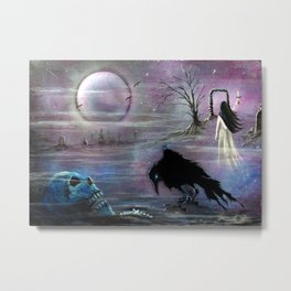 Nevermore Evermore  Metal Print