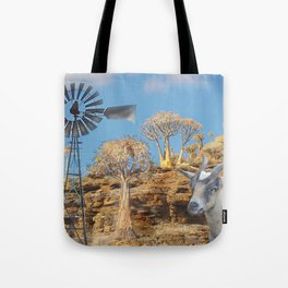 Wind Punk Golden Quivers Tote Bag