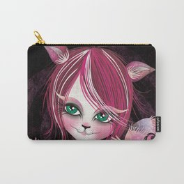 Cheshire Kitty Carry-All Pouch