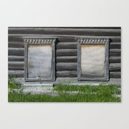 R Windows 012 Canvas Print