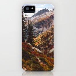 Alpine Autumn iPhone Case
