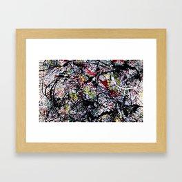 Informel Framed Art Print