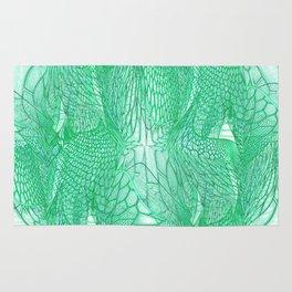 Seafoam Green Abstract 4 Rug