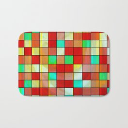 checkered II Bath Mat