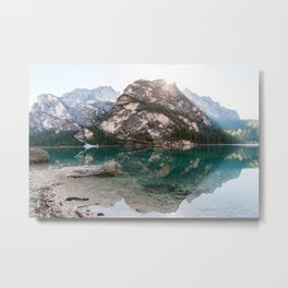 You Are My Rock Metal Print