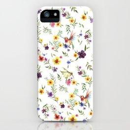 Hummingbird iPhone Case