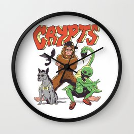 West Side Crypts Wall Clock