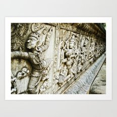 Ancient Thailand Art Print