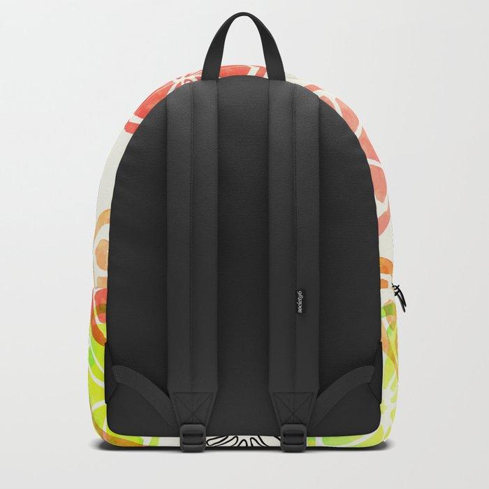 Lemon Slices Backpack