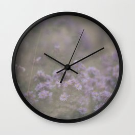 """and through the fog she found the flowers—and she was set free…"" Wall Clock"