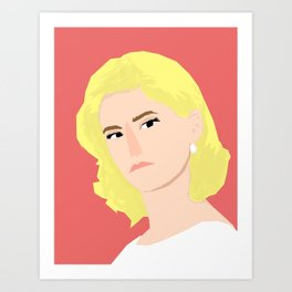 Betty Art Print