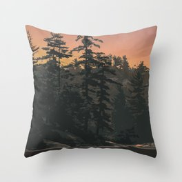 Kawartha Highlands Provincial Park Throw Pillow
