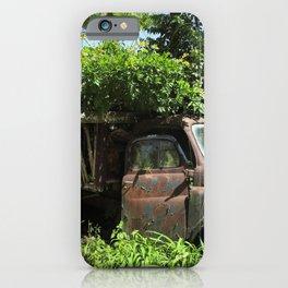 Overgrown garden iPhone Case