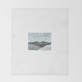 'JaPow' by Sarah King  Throw Blanket