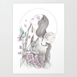 Sun Moon Art Print