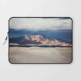 Sunlight on San Andres - Desert Scenery at White Sands New Mexico Laptop Sleeve
