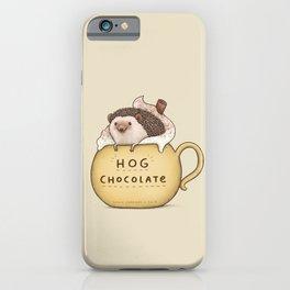 Hog Chocolate iPhone Case