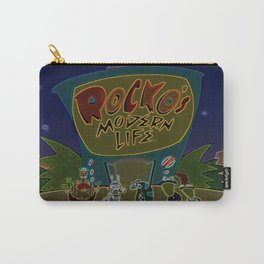 Rocko And The Crew Carry-All Pouch