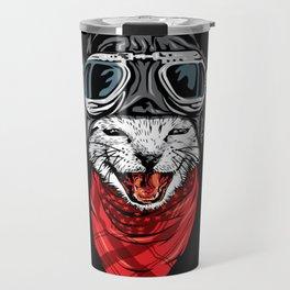 Cool Cat Travel Mug