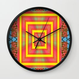 Heaven Or ell? Wall Clock