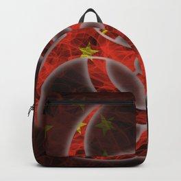 Biohazard China, Biohazard from China, China Quarantine Backpack