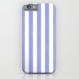 Purple textured Vertical Lines iPhone Case