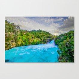 Huka falls Canvas Print