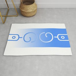 YogaOne (invertible word design) Rug