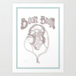 Boom Boom Art Print
