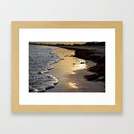 Sunset Steps Framed Art Print