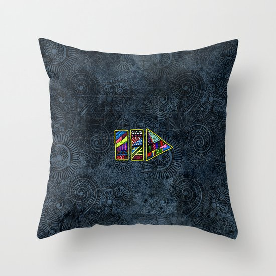 PlayPause Throw Pillow