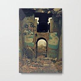 MKE Urbex Metal Print