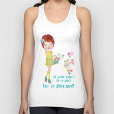 be a poem Unisex Tank Top