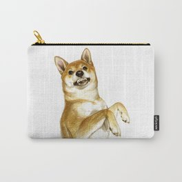 shiba inu another peanut Carry-All Pouch