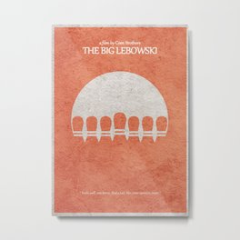 The Big Lebowski Metal Print